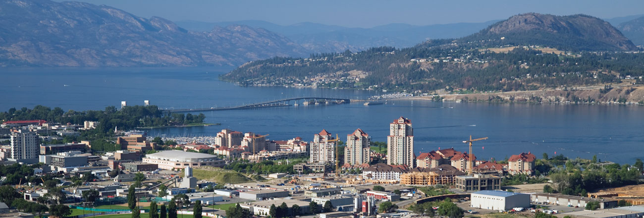 Beautiful Kelowna BC, heart of the Okanagan